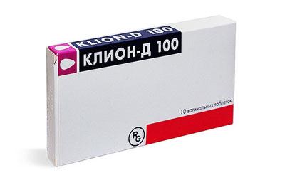 вагинальные таблетки Клион Д