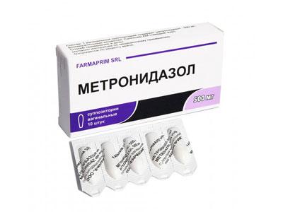 Вагинальные свечи Метронидазол
