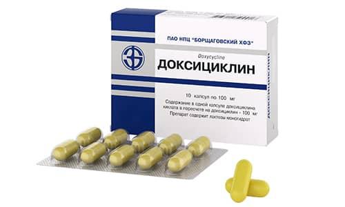 Доксициклин активен в отношении некоторых штаммов стафилококков