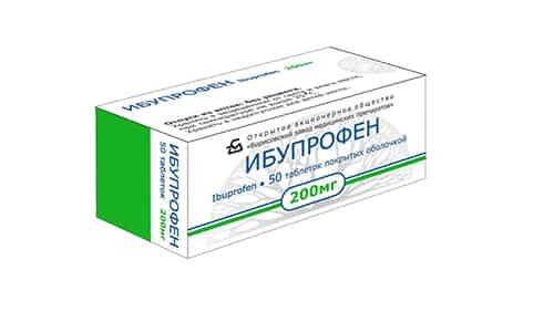 Ибупрофен способен немного увеличивать время кровотечений