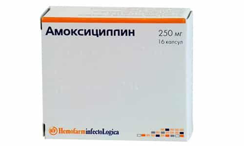Амоксициллин хорошо переносится, очень редко возможны аллергические реакции